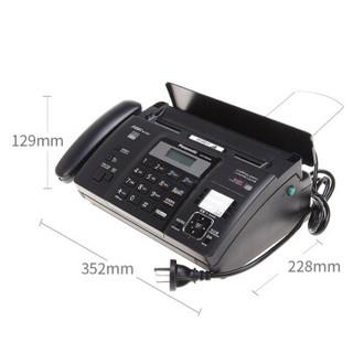 Panasonic 松下 KX-FT876CN 热敏传真机 (黑色)
