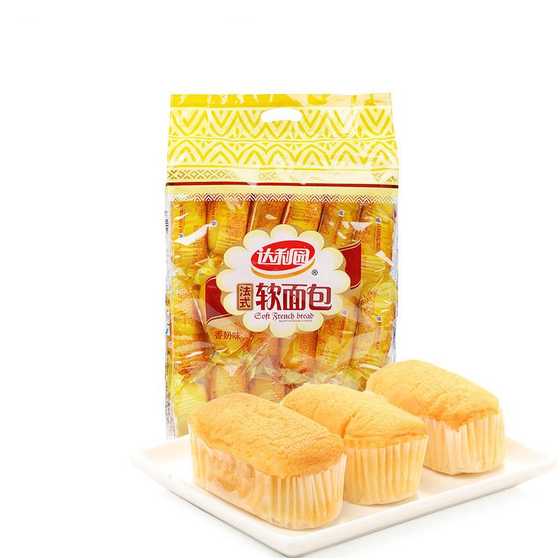 达利园 法式软面包 香奶味 360g