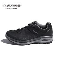 LOWA户外防水登山鞋女徒步鞋女低帮鞋子LOCARNO GTX L320817 027 (黑色、36.5)