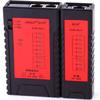 精明鼠(noyafa) 精明鼠NF-468 网络测试仪 可测试网络线 电话线 测线仪两用测线仪 网线 电话线 配9V电池