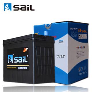 sail 风帆 汽车电瓶蓄电池46B24L 12V 长城M4东风小康C系K系V系东风风光 以旧换新上门安装