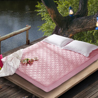 水星家纺床垫床褥子加厚软垫四季保护垫可折叠床垫子 奥斯丁玫瑰床垫2代(白色) 180×200cm *6件