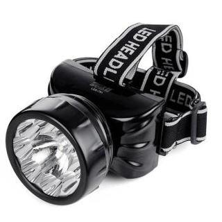 久量LED-781充电式头灯户外照明钓鱼灯 强光远射夜钓灯头戴式矿灯探照灯