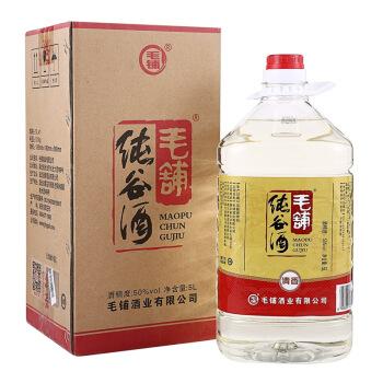 劲牌 毛铺纯谷酒 50度 5L