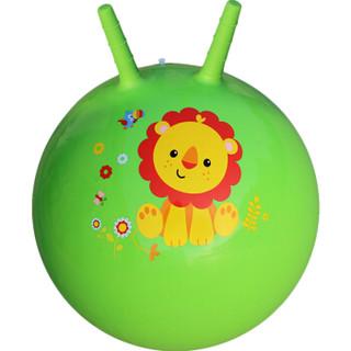 Fisher-Price 费雪 F0701H2 宝宝跳跳羊角球  45cm(绿色 赠充气脚泵)
