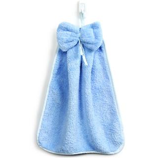 SANLI 三利 珊瑚绒挂式擦手巾 30×44cm 3条装