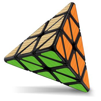 点盛 DS-214 金字塔魔方 黑色