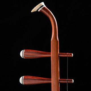 LOVEBIRD 相思鸟 XS8001 红花梨二胡 纯手工蟒皮