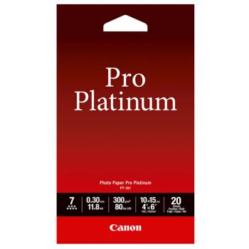 Canon 佳能 PT-101 优质专业照片纸 (4X6)