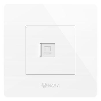 BULL 公牛 G07系列 G07T102 插座 一位电脑插座