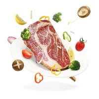 Tender Plus 天谱乐食 澳洲黑毛和牛m7+眼肉牛排 (200g)