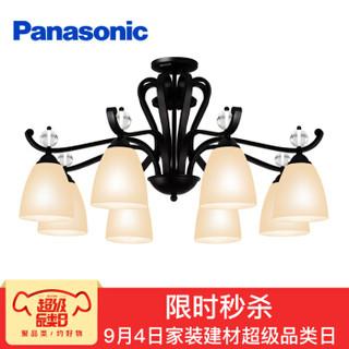 Panasonic 松下 蝶逸系列 HHLM10006 欧式吊灯 (8头、玻璃)
