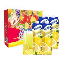 Fontana 芳塔娜 西柚汁100%纯果汁 1L*4瓶