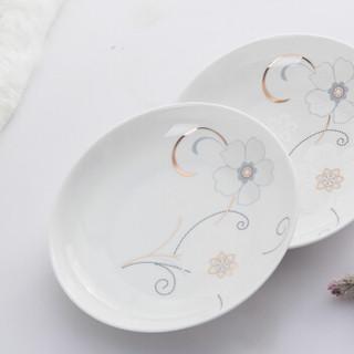 乐享 陶瓷碗碟套装 20头