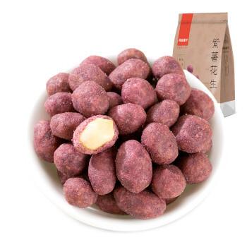 liangpinpuzi 良品铺子 良品铺子 紫薯花生 120g