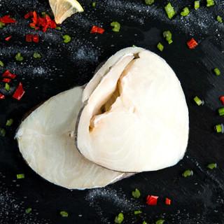 我爱渔 冷冻挪威北极鳕鱼 圆切中段 ( 300g,2-3块  )