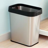 ORANGE 欧润哲 200025 压袋式垃圾桶 12L 不锈钢
