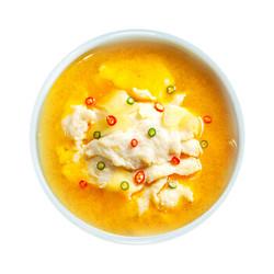 限上海两广:哈鲜 冷冻黄酸汤巴沙鱼片 400g 半成品方便菜 自营海鲜水产 *16件