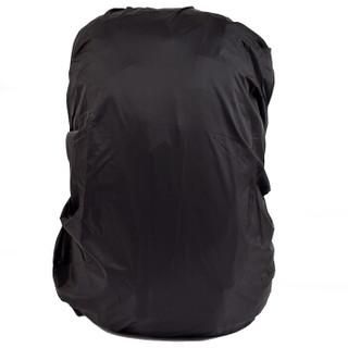 欣沁 背包防雨罩 户外旅行背包防水套中小学生书包防雨防尘罩 30-40L 黑色