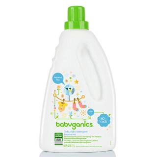 BabyGanics 甘尼克宝贝 3倍浓缩婴儿洗衣液 无香型 1.77L