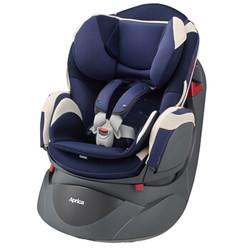 Aprica阿普丽佳 宝宝汽车儿童安全座椅 360度旋转可座可躺乐酷哆汽车座椅 适合约0-4岁 优雅蓝APRC86149