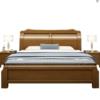 景山百岁 MH06 现代中式全实木床  1.8*2米框架款