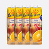 Cyprina 塞浦丽娜 芒果香橙苹果混合果汁 100%纯果汁 1L*4瓶