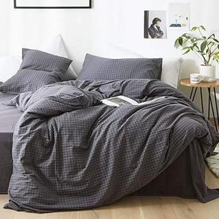 素风家纺 无印色织水洗棉全棉四件套 1.5米/1.8米宽床单款