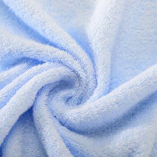 孚日洁玉 浴巾*1+毛巾*2 (3条装、蓝色)