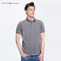 TOMMY HILFIGER 汤米·希尔费格 MW0MW04119OS 男士POLO衫 (橘黄色、XL)
