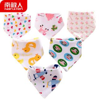 Nan ji ren 南极人 婴儿纯棉口水巾 (5条装)