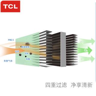 TCL A1车载空气净化器 除甲醛除pm2.5汽车新车除味车内除烟味 便携式车用负离子 车载净化器