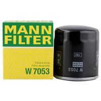 曼牌(MANNFILTER)机油滤清器 W7053/W712/8 *6件