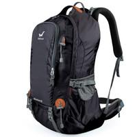 WELLHOUSE户外登山包双肩背包旅行徒步大容量40L  经典黑