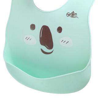 rikang 日康 RK-X4007 婴儿围兜硅 (蓝色)