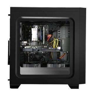 京天华盛 DIY台式组装电脑 (i7-500U、8GB、5GB、320GB、M-ATX)