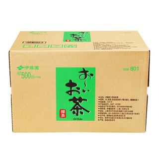 ITOEN 伊藤园 绿茶 原味 500ml*15瓶 整箱装