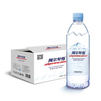 Alpenliebe 阿尔卑斯 矿泉水 (否、24、瓶、12000ml)