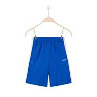 QIAODAN 乔丹 QZZ2581375 男童运动卫裤 (勋章蓝/白色、170CM、中长裤)