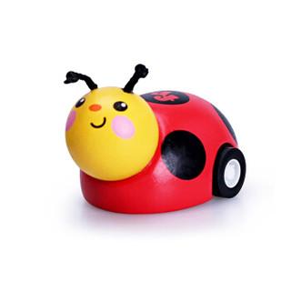 费雪(Fisher-Price)回力车玩具 惯性小汽车迷你2-3-6岁宝宝男孩女孩玩具 疯狂小瓢虫-FP1013A *6件