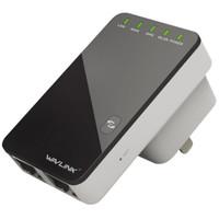 Wavlink 睿因 WL-WN523N2 双网口信号中继器 300M *3件