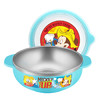 迪士尼(Disney)乐趣米奇儿童不锈钢碗 婴儿碗 儿童汤碗饭碗辅食碗宝宝碗双耳(400ml)03 *4件 245.6元(合61.4元/件)