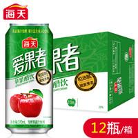 海天 爱果者苹果醋饮料 310ml*12罐