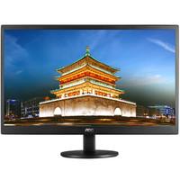 AOC E970SWN5 18.5英寸LED背光节能窄边框液晶电脑显示器(黑色) *2件