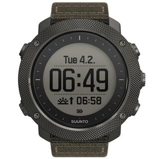 SUUNTO 颂拓 手表 TRAVERSE 远征系列 SS022292000 GPS多功能户外运动腕表 军绿色军
