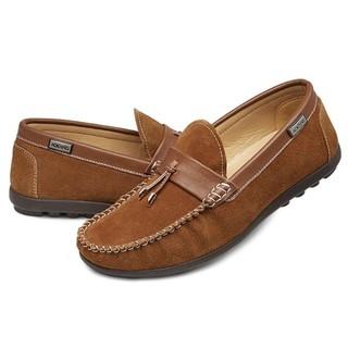 AOKANG 奥康 185119029 男士反绒豆豆鞋