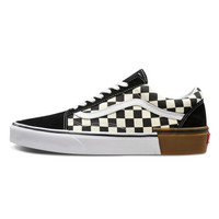 VANS 范斯 OLD SKOOL VN0A38G1U58 黑白棋盘格帆布鞋 (37)