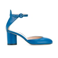 STUART WEITZMAN Kara Tripoli 牛皮高跟鞋