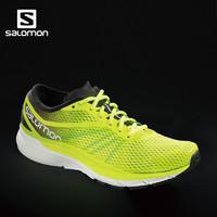 Salomon 萨洛蒙男款城市马拉松跑鞋 SONIC RA PRO  18新品 (深绿色、43)