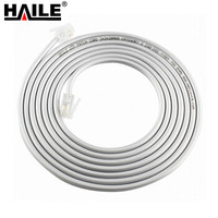 HAILE 海乐 HT5001-100 二芯单股电话线 (4米)
